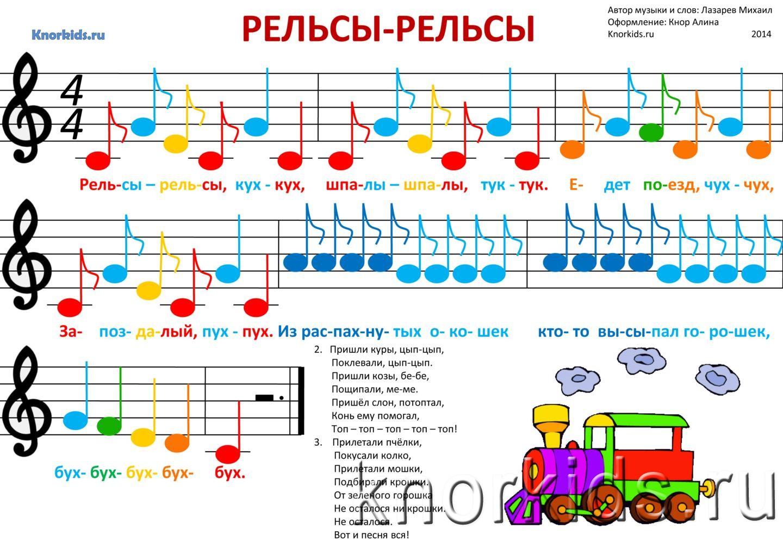 картинки с нотами для детей