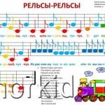 Рельсы 1 500x346 150x150 Ноты Василек