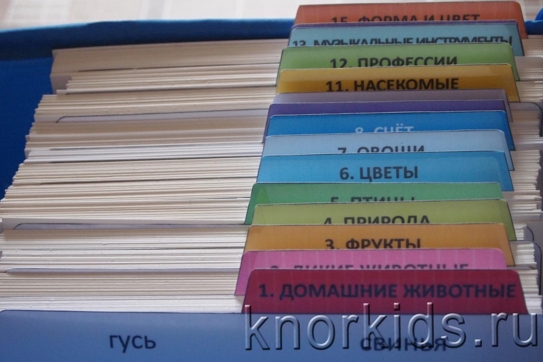 Хранение карточек «вундеркинд с пеленок» | раннее развитие детей и.