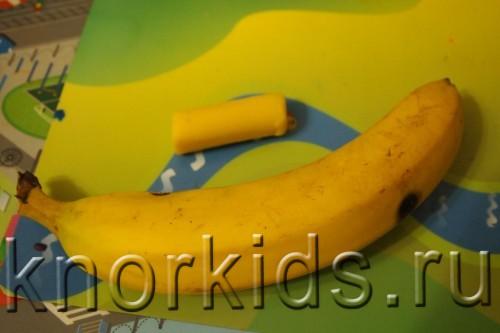 PA028009 500x333 Пластилиновая осень 2014   4. Банан