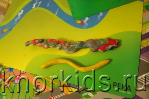 PA068247 500x333 Пластилиновая осень 2014   4. Банан