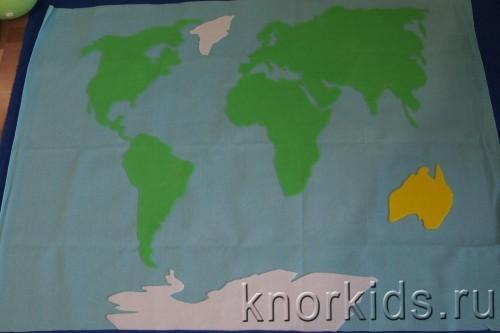 PA088289 500x333 Карта мира из велкроткани
