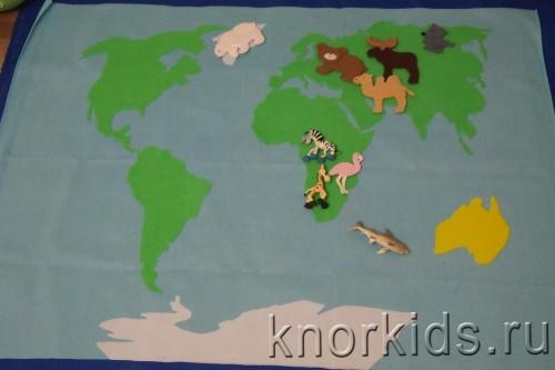PA088291 500x333 Карта мира из велкроткани