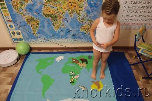 PA088296 500x333 Карта мира из велкроткани