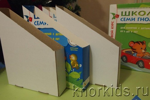 P1130640 500x333 Организация хранения. Папки для ежедневных занятий.