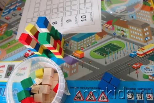P1200996 500x333 Кубики   счетный материал