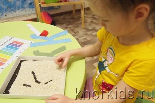 P4202711 500x333 Пособие Монтессори для тренировки письма.