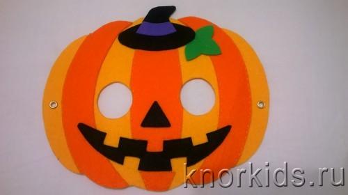 WP 20151029 21 06 12 Pro 500x280 Маска тыквы из фетра на Хеллоуин
